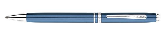 Bolígrafo Cross Advantage Azul Acero con Detalles Cromados