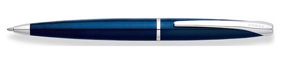 Bolígrafo Cross ATX en laca translúcida azul