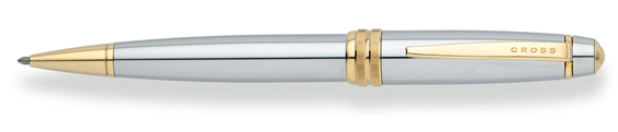 Bolígrafo Cross Bailey Medalist en cromo y dorado