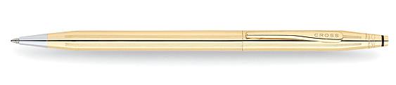 Boligrafo Cross Classic Century Laminado en Oro de 18 quilates