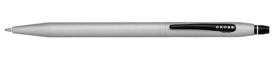 Boligrafo Cross Click Cromo Satinado o Mate y punta retráctil