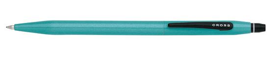 Boligrafo Cross Click Verde azulado o Click Teal y punta retráctil