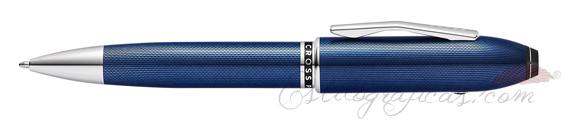 Bolígrafo Cross Peerless 125 TrackR Laca Azul AT0702-12/TKR
