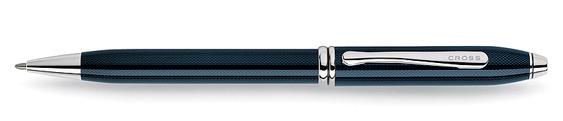 Bolígrafo Cross Townsend con Lacado Azul Cuarzo