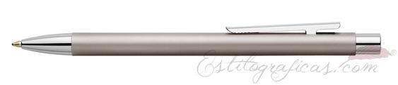 Bolígrafo Faber-Castell Essentio Neo Slim Acero Satinado 342120