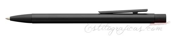 Bolígrafo Faber-Castell Essentio Neo Slim Negro Mate Lacado 342320