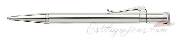 Bolígrafo Graf von Faber-Castell Clásica Plata de Ley