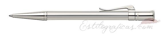 Bolígrafo Graf von Faber-Castell Clásica Platino
