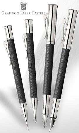 Conjunto Graf von Faber-Castell Guilloche Negro
