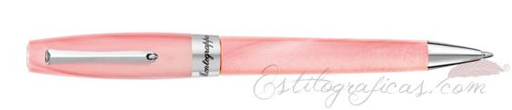 Bolígrafo Montegrappa Felicità Sugar Pink Dust ISFARBIS
