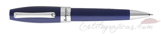 Bolígrafo Fortuna de Montegrappa en azul y Paladio ISFORBPD