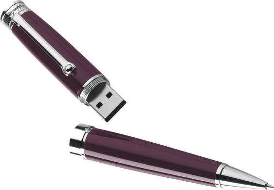 Bolígrafo Montegrappa Parola USB Malva ISWOUSBL
