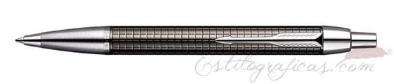 Bolígrafo Parker IM Premium Chiselled Carbón S0908710