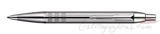 Bolígrafo Parker IM Premium Chiselled Cromado S0908660