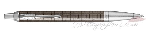 Bolígrafo Parker IM Premium Espresso Cincelado CT 1931683