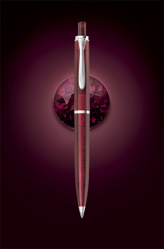 Bolígrafo Pelikan M205 Star Ruby Publicidad