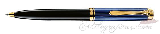 Bolígrafo Pelikan Souverän K 600 Negro y Azul 988378