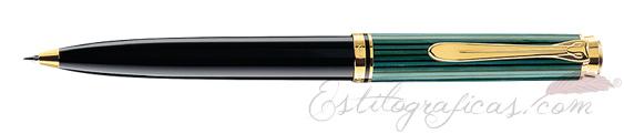 Bolígrafo Pelikan Souverän K 600 Negro y Verde 979518