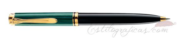 Bolígrafo Pelikan Souverän K 300 Negro y Verde 902114