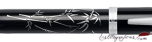 Detalle de bolígrafo Friends of Winter Bamboo de Sheaffer