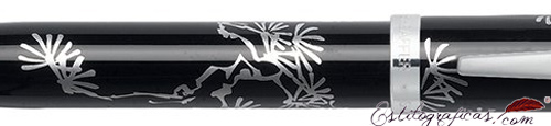 Detalle de bolígrafo Friends of Winter Pine de Sheaffer