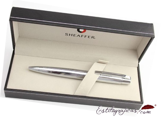 Estuche de los bolígrafos Gift collection 300 Cromo de Sheaffer