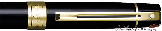 Detalle de bolígrafo Gift 300 Negro GT de Sheaffer