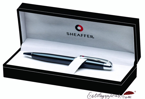 Estuche de los bolígrafos collection Gift 500 Negro y Cromo de Sheaffer