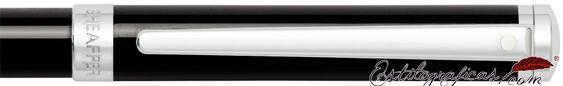 Detalle del bolígrafo Intensity Laca Negra de Sheaffer