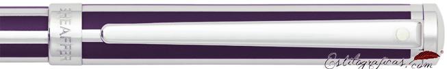 Detalle del bolígrafo Intensity violeta