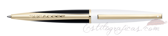 Bolígrafo Sheaffer Taranis Blanco Luminoso Rayo 9442-2