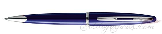 Bolígrafos Waterman Carene Laca Azul Brillante