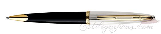 Bolígrafos Waterman Carene Deluxe Negro