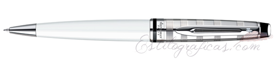 Bolígrafo Waterman Expert Deluxe White CT