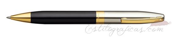Bolígrafos Sheaffer Legacy Heritage laca negra y paladio
