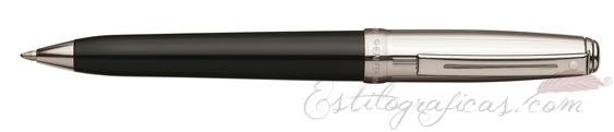 Bolígrafos Sheaffer Prelude laca negra y paladio CT 9134-2