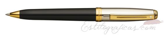 Bolígrafos Sheaffer Prelude laca negra y paladio GT 337-2