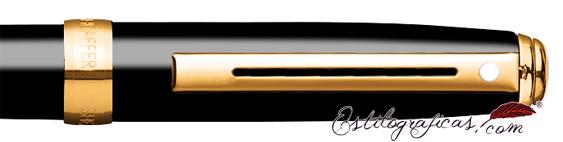 Detalle del bolígrafo Prelude Mini Laca Negra GT