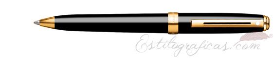 Bolígrafos Sheaffer Prelude Mini Laca Negra GT 9801-2