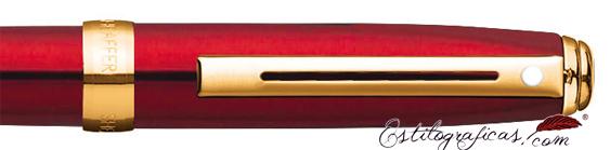 Detalle del bolígrafo Prelude Mini Rojo