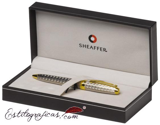 Estuche del Bolígrafo Sheaffer Prelude Signature piel de serpiente
