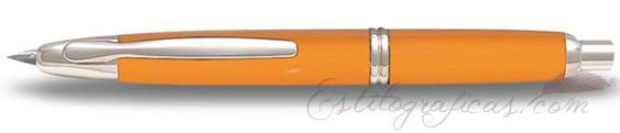 Estilográfica Pilot Capless Rojo y Rodio Mod. FC-1500RR-Y-F