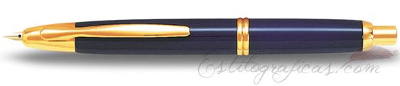 Estilográfica Pilot Capless Azul y Oro Mod. FC-1500RG-F-L