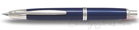 Estilográfica Pilot Capless Azul y Rodio Mod. FC-1500RR-F-L