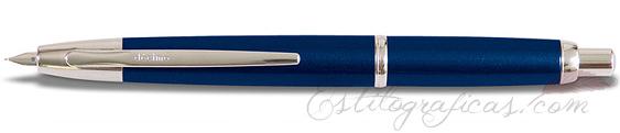 Estilográfica Pilot Capless Décimo Azul Oscuro Mod. FCT-1500RR-DL-F