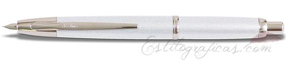 Estilográfica Pilot Capless Décimo Blanco Mod. FCT-1500RR-W-F