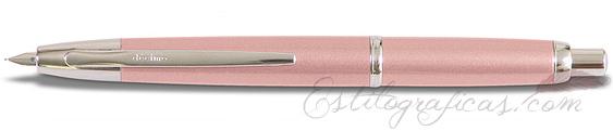 Estilográfica Pilot Capless Décimo Rosa Champagne Mod. FCT-1500RR-CP-F
