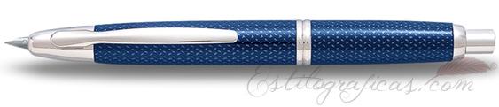 Estilográfica Pilot Capless Grafito Azul Mod. FC-1500RRK-F-L