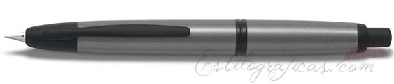 Estilográfica Pilot Capless Gris Mate Mod. FC-1700R-BD-GY-F