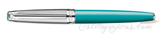 Vista Caran d'Ache Léman Bicolor Turquoise